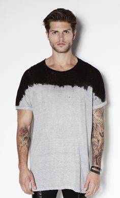 T Shirt Top Washed