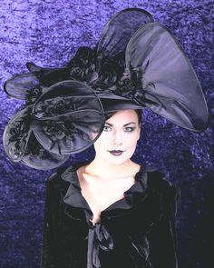 Bespoke Couture Hat #millinery #judithm #nybuck