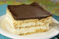 No Bake Chocolate Eclair Dessert Recipe
