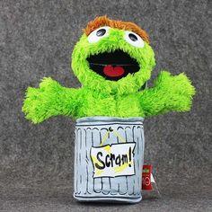 Full set 7Style Sesame Street Elmo Cookie Grover Zoe& Ernie Big Bird Stuffed Plush Toy Doll Gift Children