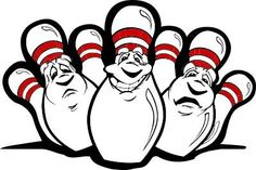 62 Best Bowling Images Clip Art Bowling Bowling Pins