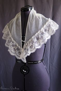 fichu civil war era fashion