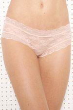 Nude Scalloped Lace Briefs at Urban Outfitters