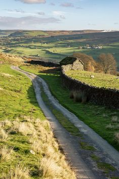 Into Swaledale - Yorkshire Dales, England by matrobinsonphoto
