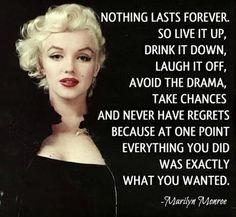 #MarilynMonroe had the right idea...  'Drink it down' and make it a #TheKingofSoho gin!