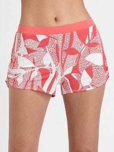 Cosabella Jungle Animal Pajama Shorts look so comfy! Animal Pajamas, Jungle Animals, Pajama Shorts, Saks Fifth Avenue, Gym Shorts Womens, Comfy, Swimwear, Luxury, Link