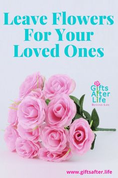Leaving flowers at your loved ones gravesite. #giftsafterlife #artificialflowers