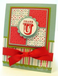 i STAMP by Nancy Riley: CHRISTMAS THANK YOUs