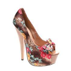 Pantofi de dama camel Time for Spring