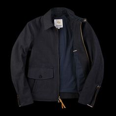 Indigo Golden Bear Jacket