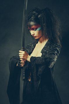 Geisha warrior 2 by Olivier Lannes /