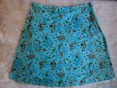 Women Sz 1X #CottonSkirt #Floral #Lined #AboveKnee #JaclynSmith #PlusSize #Fashion #Style