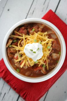 Fiery Chicken Chili Recipe
