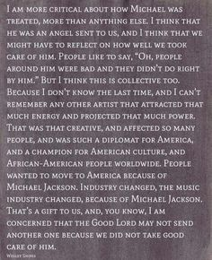 Wesley Snipes speaking about Michael Jackson: #Truth Yes! Our baby deserved better!!