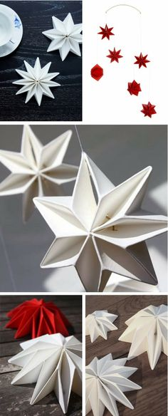 Pleated Stars by Tine Mouritsen