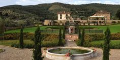 The beutiful landscaped gardens of Villa Baroncino, Italy, Umbria - the setting for your dream Italian Wedding www.romanticitalianweddings.com