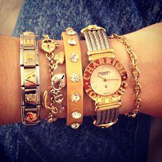 @Charriol Official Philippe Charriol, Morris, Arm Candies, Bling, Jewelries, Michael Kors Watch, Branding Design, Target, Essentials