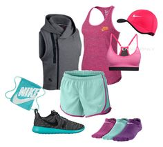"""""""Nike style #5"""" by merima-musanovic ❤ liked on Polyvore featuring NIKE"""