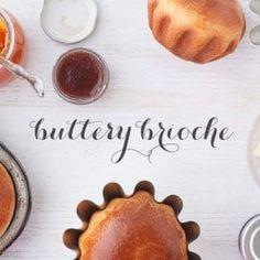 Brioche is the ultimate bread. It's a buttery treat. Here's a recipe for homemade brioche Homemade Brioche, Brioche Recipe, Brioche Bread, Bread Bun, Dog Bread, Bread Rolls, Scones, French Brioche, Baking Science