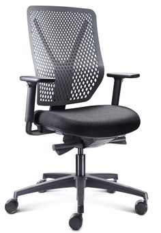 Staff Seating | Connection - Why S-Type ergonomically designed task chair.