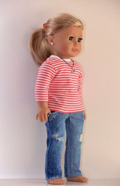 18 inch American Girl  Doll Clothing Active Wear by Simply18Inches