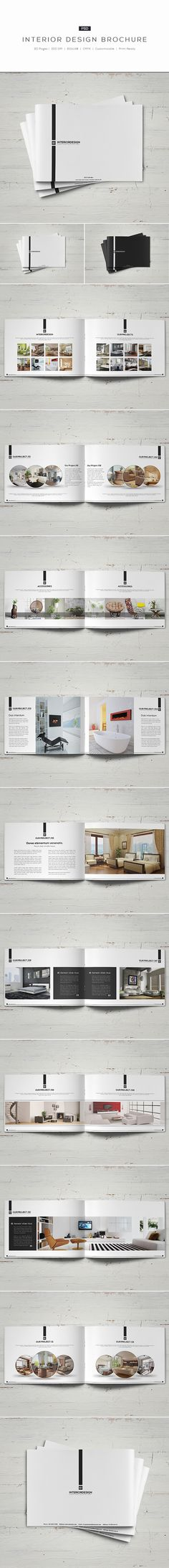Interior Design Brochure2 Different Colors:- White- BlackDetails:- 20 pages- Easy to modify- CMYK- 300 DPI- 210mm x 148mm- Print ready- Layered PSDFonts:fontfabric.com/nexa-free-fontgoogle.com/fonts/specimen/Open+Sansgoogle.com/font…