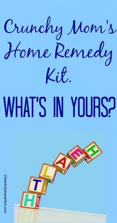 crunchy momma's home remedy kit #homeremedies #naturalremedies #crunchymom
