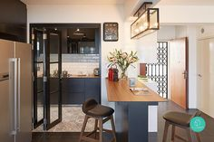 Read This Ultimate Homeowner's Guide If You Are Renovating Interior Design Singapore, Interior Design Kitchen, Room Interior, Matilda, Kitchen Sliding Doors, Ikea Kitchen, Kitchen Ideas, Kitchen Islands, Kitchen Inspiration