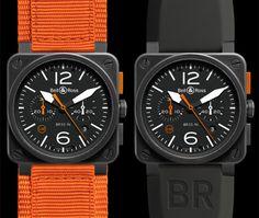 BASELWORLD 2014: Limited Edition BR 03-94 Carbon Orange
