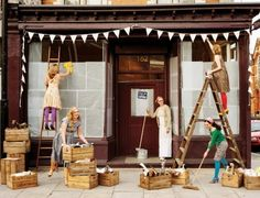 50 vintage bakery shop store fronts window displays - Savvy Ways About Things Can Teach Us Vintage Bakery, Vintage Shops, El Chante, Bar, Store Front Windows, Living In London, Future Shop, Le Shop, Shop Fronts