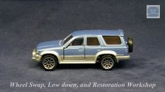 TOMICA 084E TOYOTA HILUX SURF #WHEELSWAP #LOWDOWN | v.78 | MESH SILVER Subaru Cars, Toyota Hilux, Old Models, Diecast, Surfing, Auction, Mesh, Vehicles, Silver