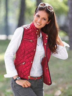 Chaleco mujer tejido acolchado impermeable Chaqueta Impermeable Mujer 681e87e5b6c0f