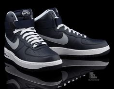 size 40 23d8b a0578 Release Reminder  Nike Air Force 1 High  Hoyas  Coming to Nike Sportswear  retailers this weekend is a new colorway of the Air Force Previously  available ...