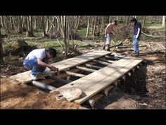 How to Build a Arched Garden Bridges, pond,Filter, build, construction,559-325-2597 - YouTube