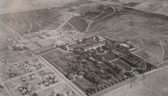 Aerial view of the Union Printer's Home - 1900