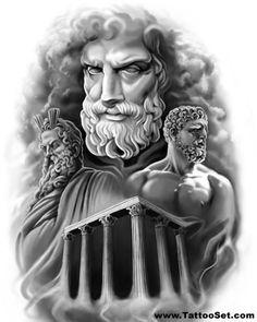 Greek gods mythology tattoo ideas