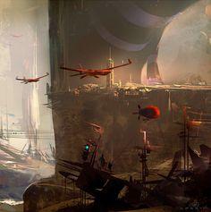 Nicolas Bouvier (Sparth) Concept Art