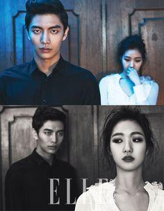 2014.03, Elle, Lee Min Ki, Kim Go Eun