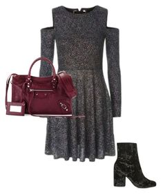 """Untitled #279"" by amelia-cave ❤ liked on Polyvore featuring Topshop and Balenciaga"