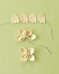 Blumen oder 4-blätteriges kleeblatt