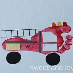 footprint firetruck :)