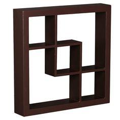 """Found it at Wayfair - Ashland 16"""" Display Shelf in Espresso"""