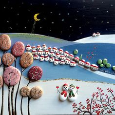 Worli Painting, Stone Painting, Rock Collection, Rock Crafts, Pebble Art, Stone Art, Painted Rocks, Cactus, Projects To Try