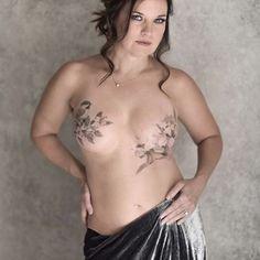 Tatuagens pós-mastectomia (Foto: Reprodução)