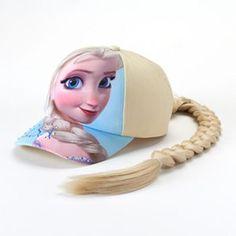 Disney Frozen Elsa Braid Baseball Cap #FrozenFunAtKohls