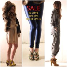 High quality, high taste, high heels and all on #sale! What's not to love! #shoes #fashion #shopping