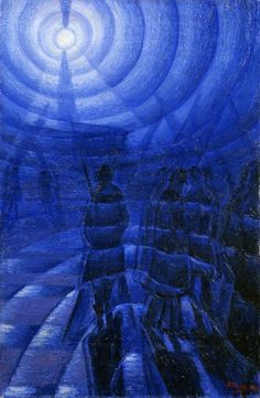 zombienormal:  Luigi Russolo (Italian, 1885-1947), Solidity of Fog, 1912. Peggy Guggenheim Collection, Venice, Italy. Via.