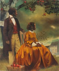 Artist Elizabeth Colomba engages history from the perspective of black women Art And Illustration, Illustrations Posters, Black Artwork, Afro Art, African American Art, Black Artists, Black Women Art, Pretty Art, Female Art