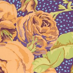 Kaffe Fassett Fabric August Rose Ochre