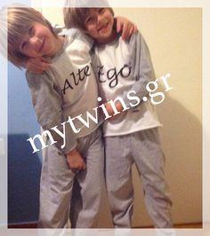 My twins in alter ego sleepwear!